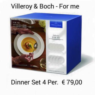 Villeroy & Boch - Geschirr-Aktion