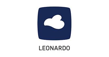 Leonardo Glas - Logo - Haushalt - Geschenke - Schatzl